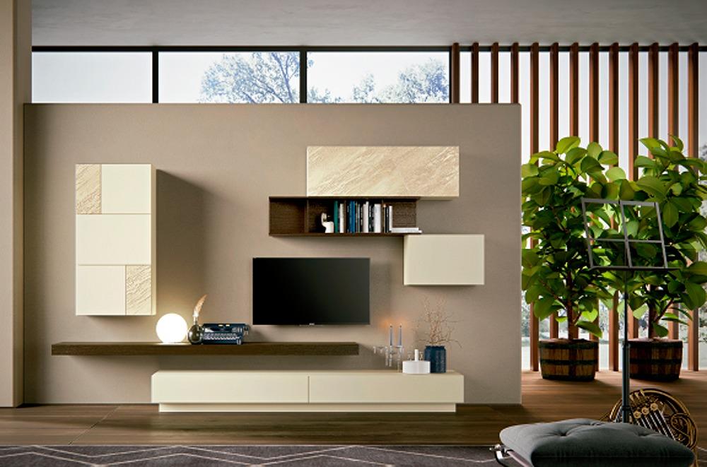 Muebles italianos en tienda decoraci n de elda for Zona living moderna